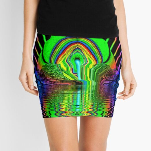 Glory Holly by Spaced Painter Mini Skirt