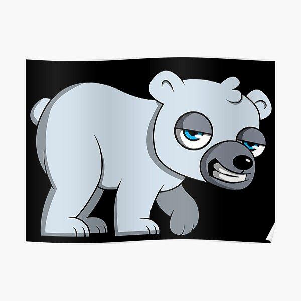 Süsser Eisbär Poster