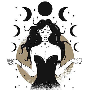 Lunar Goddess by litteposterco