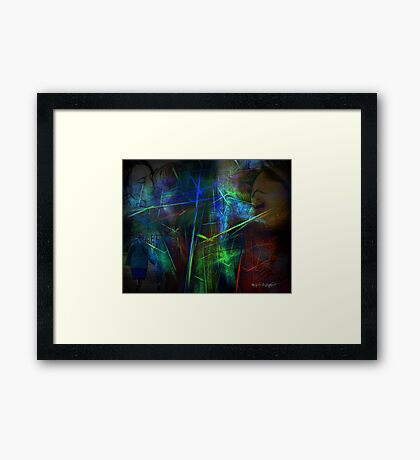 Life is Sweet Framed Print