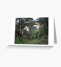 Pictons historical railway viaduct Greeting Card