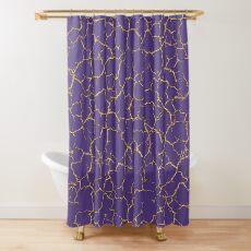 Fractus Aurum Shower Curtain