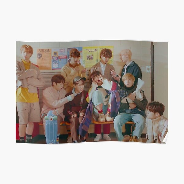 Stray Kids-Get Cool Poster