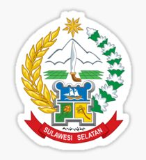 Seal of South Sulawesi  Sticker