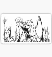 Walking through the grass - Mushi-Shi Sticker