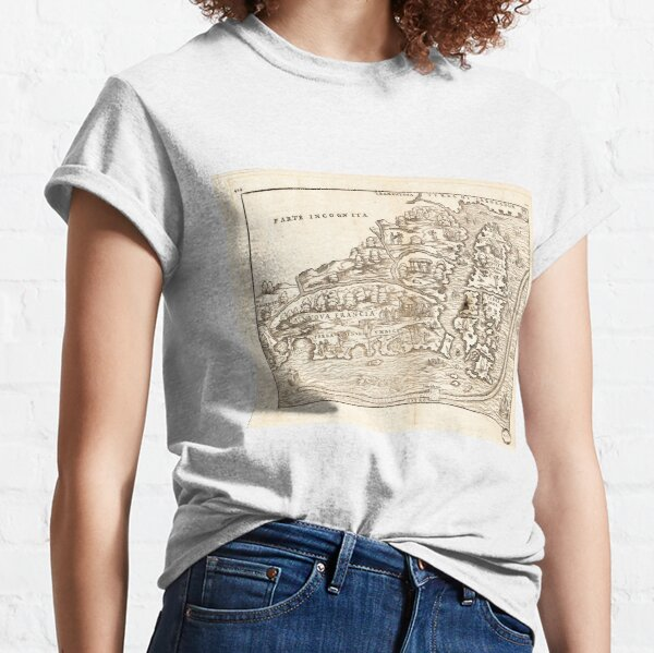Map of Eastern Canada (1565) Classic T-Shirt