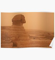 Sphinx, Giza Poster