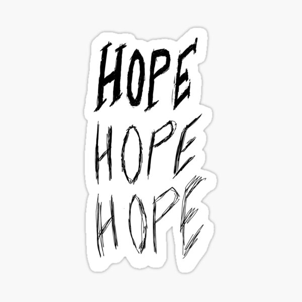 Decaying Hope Sticker