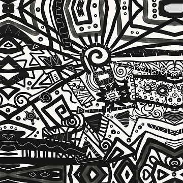 Black and White Maze by gretzky