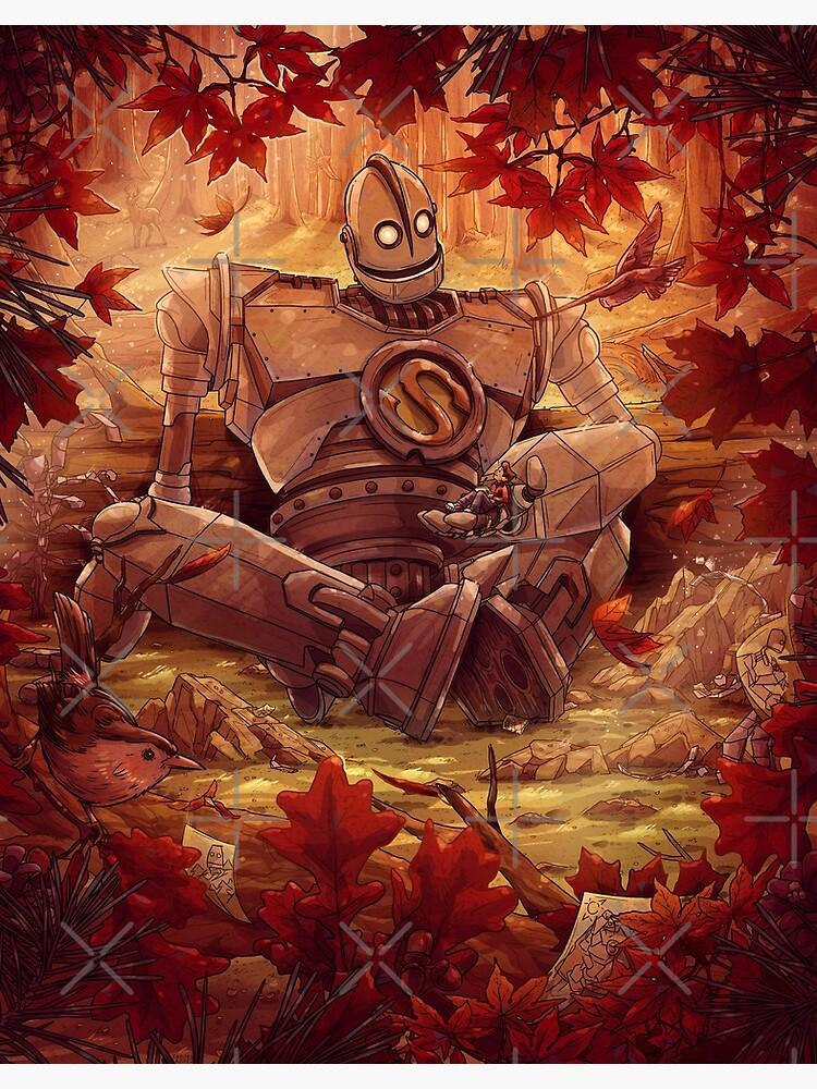Souls Don't Die Iron Giant Fan Art by TaylorRoseArt