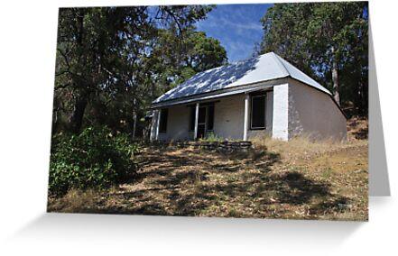 Settler's cottage Dawesville by Peter Rattigan