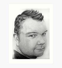 Stephen Pencil Portrait Art Print