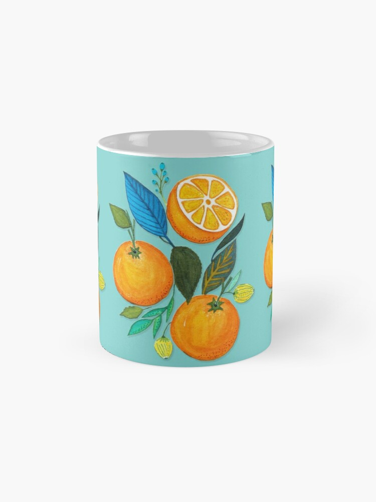 Vista alternativa de Tazas Lady Orange