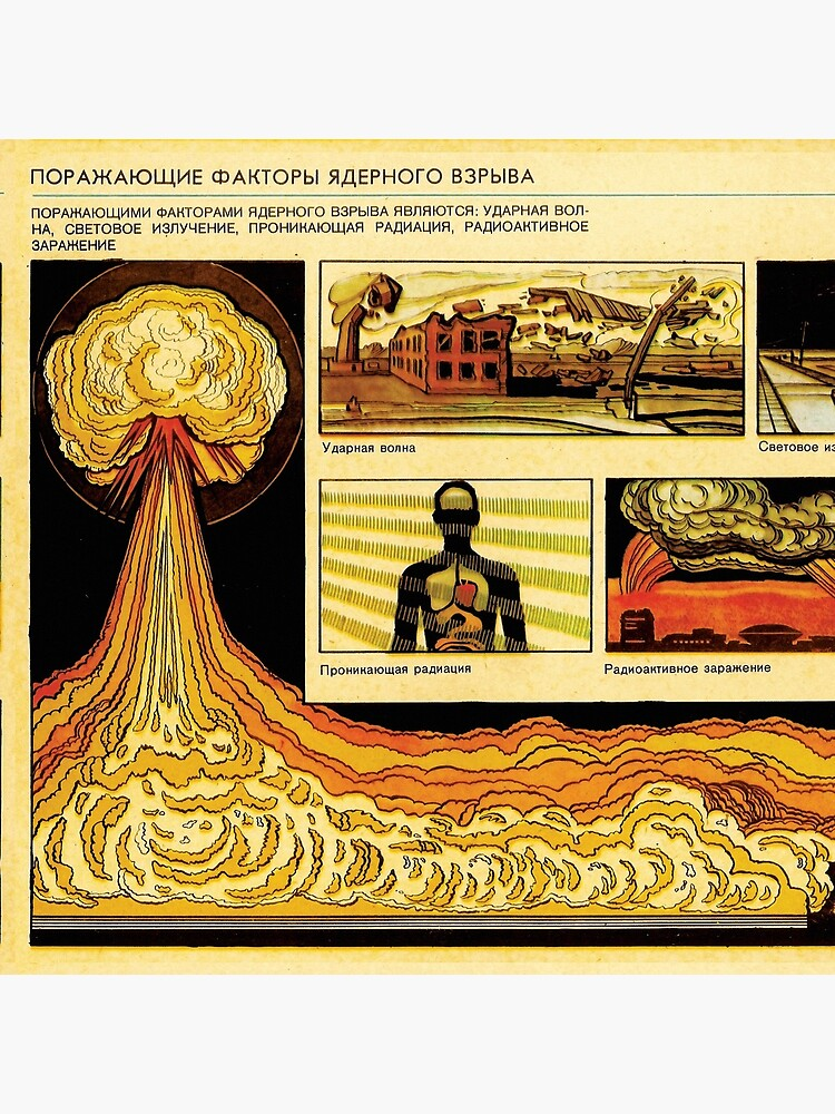 Effects of Nuclear Explosions - Soviet Atomic War Preparation by entroparian