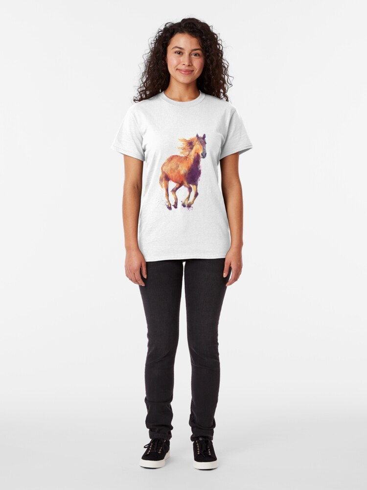 Alternate view of Horse // Boundless Classic T-Shirt
