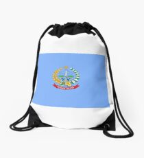 Flag of South Sulawesi Drawstring Bag