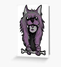 Wolf Woman Greeting Card