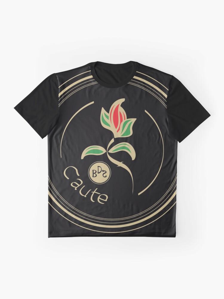 Alternate view of Caute - Antique Graphic T-Shirt