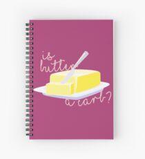Cuaderno de espiral ¿Es la mantequilla un carburador?