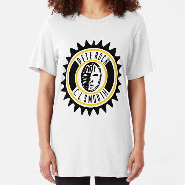 Pete Rock and CL Smooth Slim Fit T-Shirt