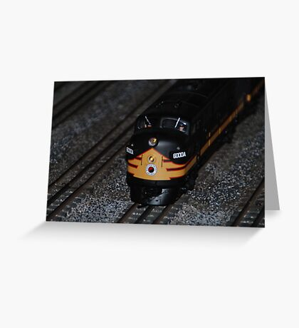 Small Train Greeting Card