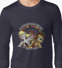 Space and Time at your Hoof  Long Sleeve T-Shirt