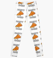 Party Hard Pizza Pixel Art Leggings