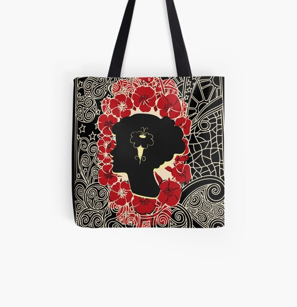 Arsenic and old lace All Over Print Tote Bag