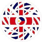 British Filipino Multinational Patriot Flag Series by Carbon-Fibre Media