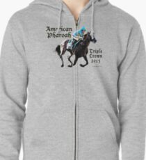 American Pharoah Triple Crown 2015 Zipped Hoodie
