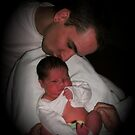 Daddy's Kiss by linmarie