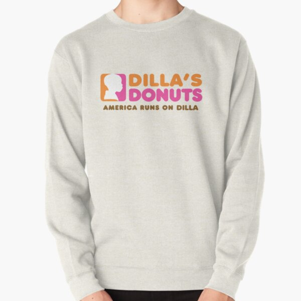 America runs on Dilla Pullover Sweatshirt