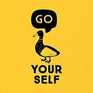 Go Duck Yourself by Aguvagu