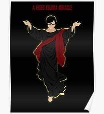 A Hideo Kojima miracle Poster