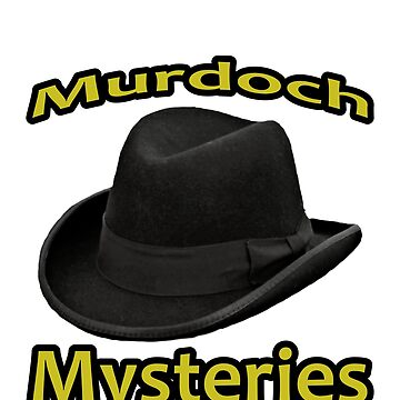 Detective Murdoch Wears a Homberg Hat by michaelrodents