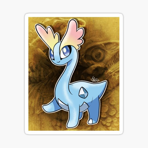 Amaura, die Tundra-Pokémon Sticker