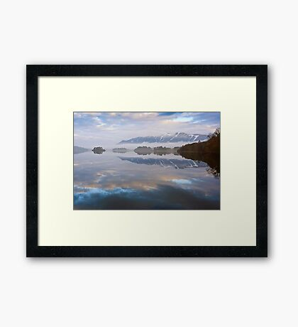 Skiddaw from Derwent Water Framed Print