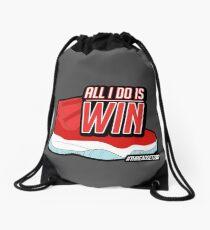 ALL I DO IS WIN Drawstring Bag