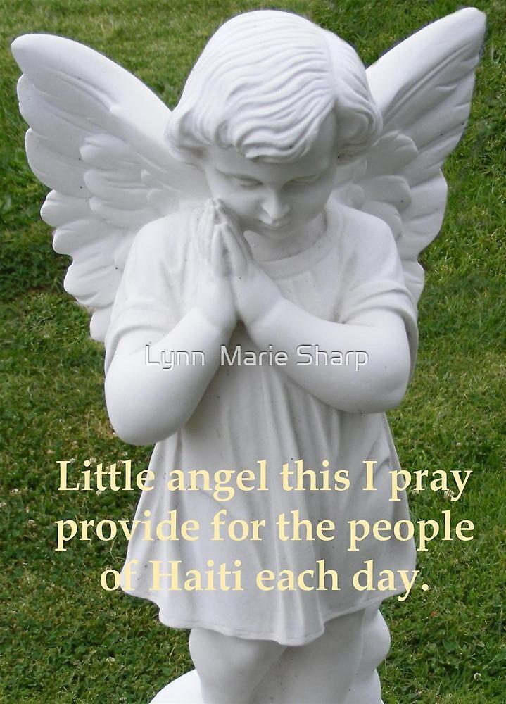 Pray For Haiti by Marie Sharp