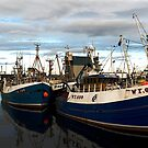Peterhead Port by Susan A Wilson