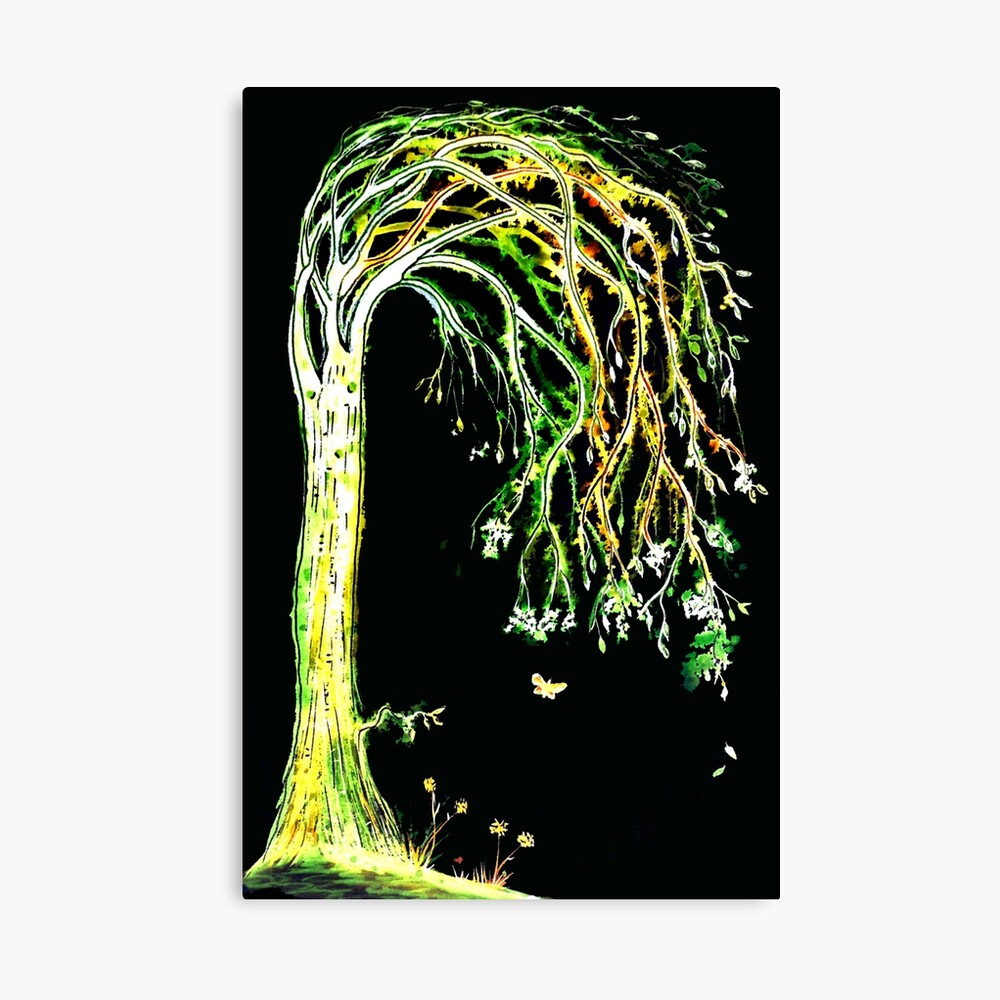 Limelight Tree Canvas Print