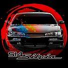 Nissan Silvia S14 by edgecreative