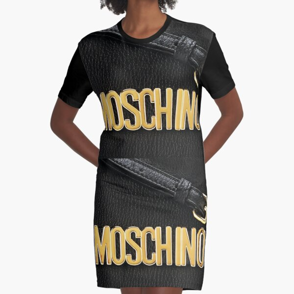 Moschino Bag Graphic T-Shirt Dress