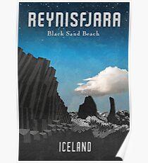 Island: Reynisfjara Poster