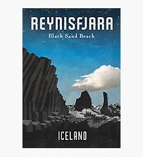 Island: Reynisfjara Fotodruck