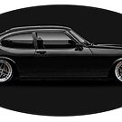 Mighty Ford Capri by edgecreative