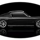Mighty 66 Mustang Fastback by edgecreative
