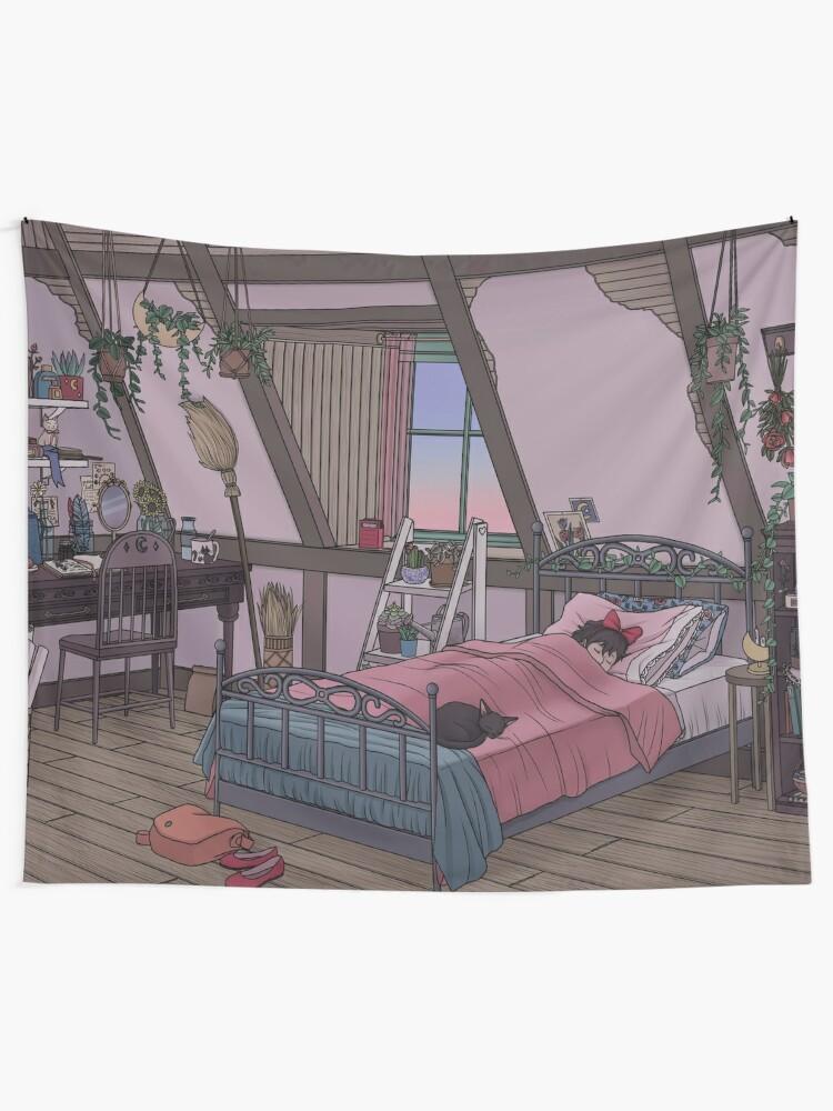 Alternate view of Kiki's Room Tapestry