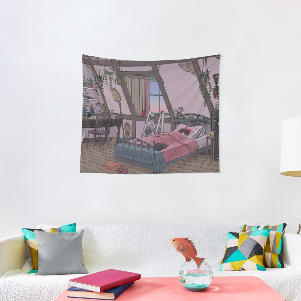 Kiki's Room Tapestry