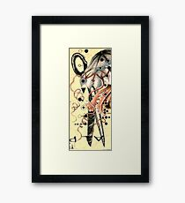 A pair Framed Print